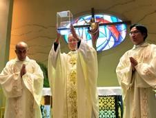 真福德蘭修女聖髑永久安放香港平民堂區