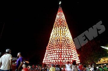 印度:總主教號召讓慈愛照亮綠色聖誕