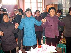 中國:新絳教區在教友協助下成立新團體