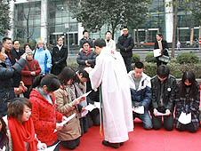 中國:成都教區舉辦首屆成人禮