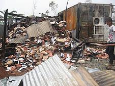 印尼:總統連任後教堂受到更多襲擊 thumbnail