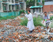 中國:資金短缺影響四川聖堂重建