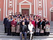 中國:西藏教友赴陝西山西朝聖交流