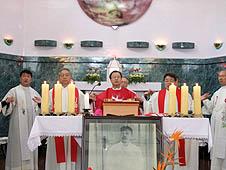 亞洲:日韓天主教徒在中國為和平祈禱