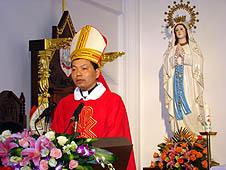 中國:廈門教區十九年後新主教晉牧