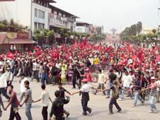 尼泊爾:政黨無限期罷工妨礙教友進堂