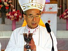 中國保定教區安樹新助理主教公開就職