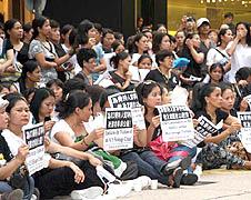 香港市民哀悼馬尼拉挾持事件遇難者