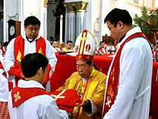 中國多個教區於宗徒慶日誕生新鐸