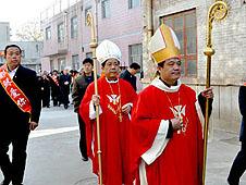 中國周村教區祝聖楊永強助理主教