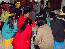【特稿】主,你是我最知心的朋友──記武漢青年元旦活動
