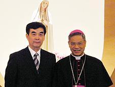 台北總主教向大陸宗教團表述教會立場 thumbnail