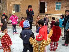 中國教會春節前後看望老人及培訓教友