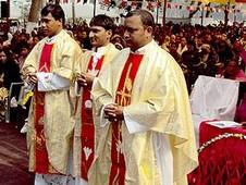 尼泊爾教區新祝聖三名印度神父
