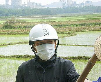 越南村民要求對塵埃污染採取行動