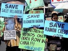 基督徒為被中國處決的菲律賓人祈禱