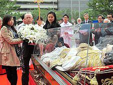 香港青年喜迎鮑思高聖髑來華