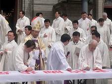 北京教區推動信眾投入「教友福傳年」