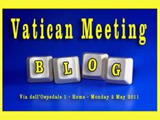 梵蒂岡公布獲邀與會之博主名單