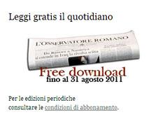 梵蒂岡《羅馬觀察報》推出新網站 thumbnail