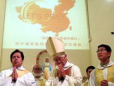 香港信眾響應教宗為中國教會前路祈禱