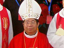 中國兗州教區祝聖呂培森主教