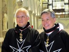 八位香港信徒獲冊封馬爾他騎士