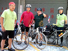 台灣單車環島朝聖實踐耶穌會精神