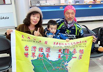 台灣單車老騎士展開大陸尋訪教堂旅程