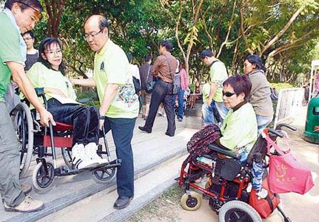 民間組織指香港欠缺對殘疾人的全面政策