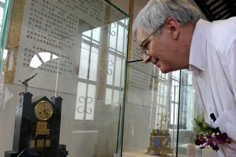 中國首座利瑪竇專題展館在肇慶開幕