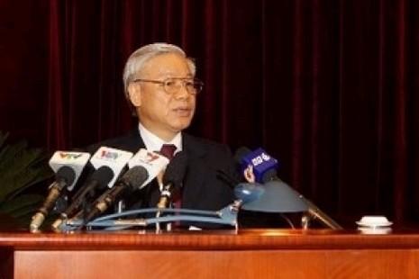 越南共產黨中央委員會大會討論土地法