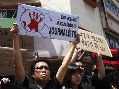 亞洲新聞媒體處於世界最受束縛環境