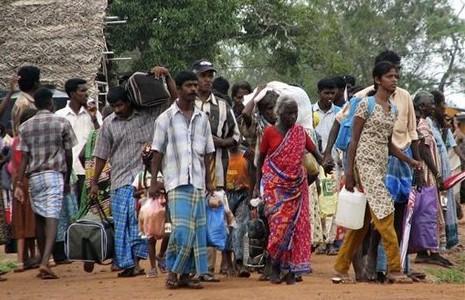 斯里蘭卡軍方禁止泰米爾人重返家園