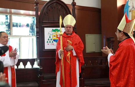 哈爾濱無視警告舉行非法主教祝聖