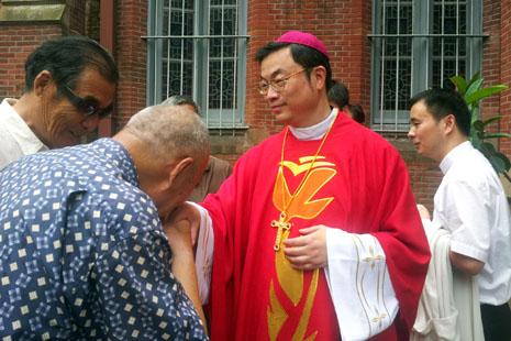 中國當局撤銷對上海馬達欽主教的任命