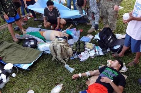 菲律賓傳教士逃離巴西蘭伏擊