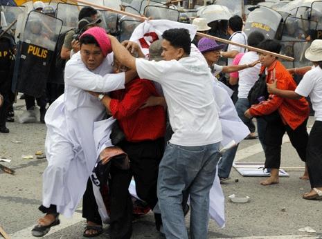 神職與民眾不滿菲總統國情咨文無助窮人