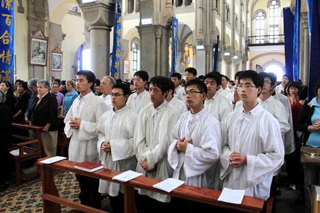 上海大小修院延遲開學,修女會長被撤職