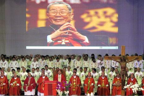 【特稿】单国玺枢机葬礼的录音讲道全文