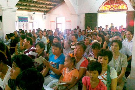 海南最久教堂國慶日慶祝一百二十周年 thumbnail