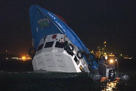 香港撞船事故卅八死令國慶活動成悲劇