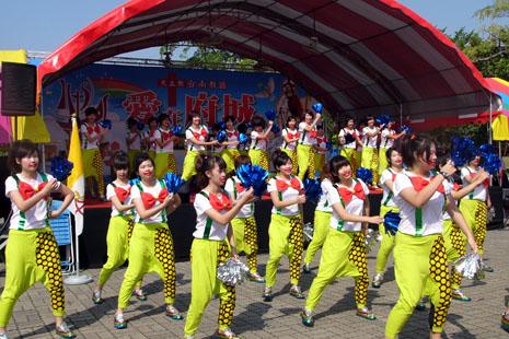 台南教會於社區公園辦信德年博覽會