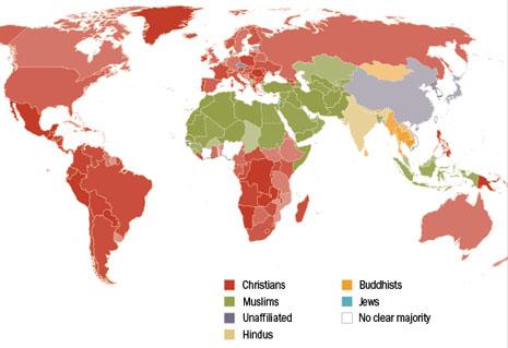 美國調查指全球人口逾八成有宗教信仰 thumbnail