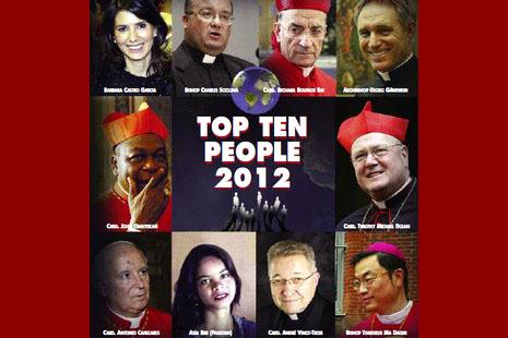 天主教雜誌年度人物馬達欽主教榜上有名