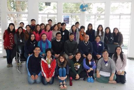 香港青年基督徒參與合一祈禱營交流信仰