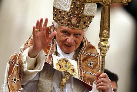 天堂景象──對教宗本篤辭職的思索