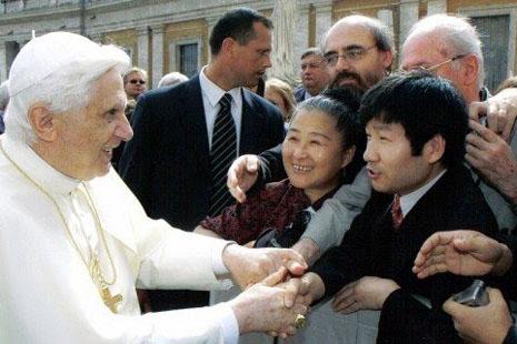 中國部分教友對教宗請辭感到疑惑
