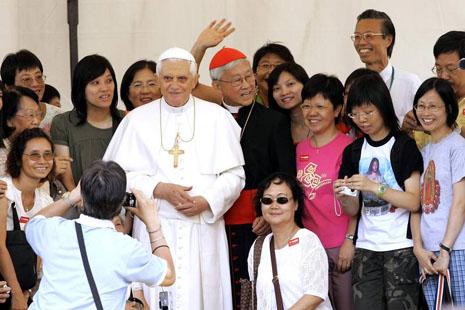教宗向中韓越人民致以新春問候