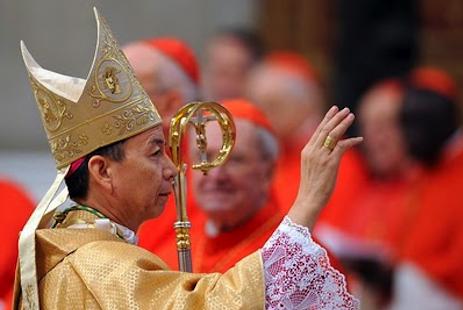韓大輝總主教讚揚教宗本篤的謙遜精神